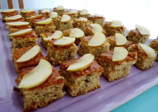 comereumaarte - bolo de maçã com canela