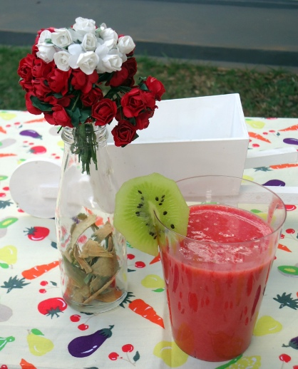 comereumaarte - smoothie de morango1