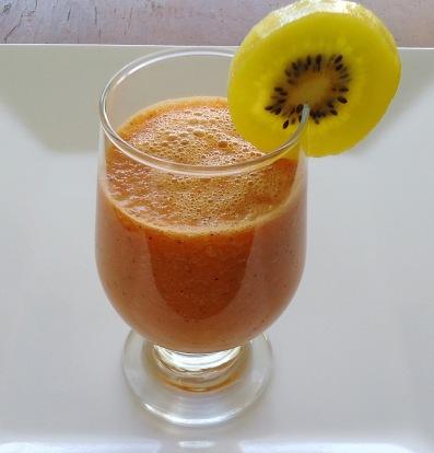 Suco - cenoura e kiwi
