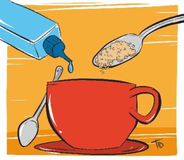 Açúcar ou adoçante